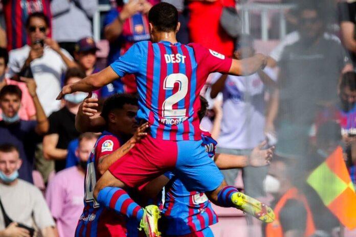 บาร์ซา คืนฟอร์มทุบเลบานเต้ 3-0 ลาลีกา สเปน