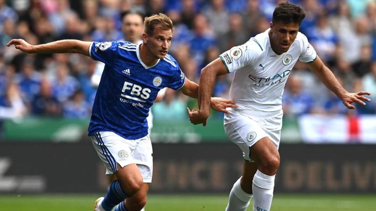 ไฮไลท์ พรีเมียร์ลีก : เลสเตอร์ ซิตี้ 0-1 แมนเชสเตอร์ ซิตี้ - Sportthai