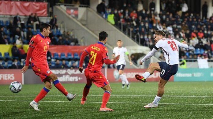"""""""สิงโตคำราม""""เฮลั่นคัดบอลโลกถล่มอันดอร์ร่า5-0 ทีมชาติ"""