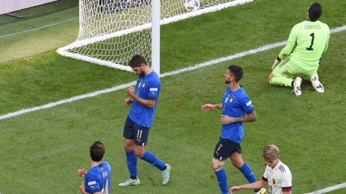 อิตาลี ไม่พลาดทุบ เบลเยียม 2-1 คว้าที่สามเนชันส์ ลีก ทีมชาติ